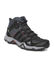 Adidas Men Black AX2 Mid Outdoor Shoes