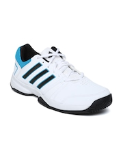 Adidas Men White Ace Chopper Tennis Shoes
