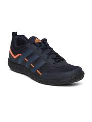 Adidas Men Navy Voltron Mesh Outdoor Shoes