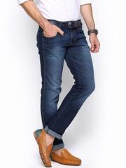 Wrangler Men Blue Rockville Fit Jeans