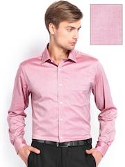 Men Dark Pink Premium Formal Fit Formal Shirt Arrow