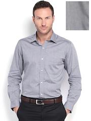 Arrow Men Grey Slim Fit Formal Shirt