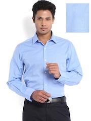 Arrow Men Blue Premium Formal Fit Shirt