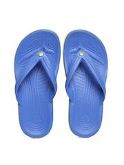 Crocs Unisex Blue Flip-Flops