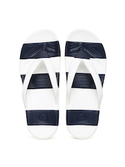 Crocs Unisex Off-White Flip-Flops