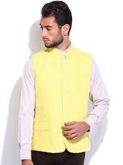 Arrow Men Yellow Waistcoat