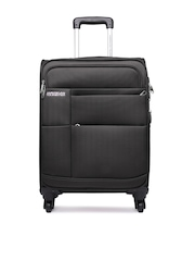 American Tourister Unisex Dark Brown Speed Spinner Trolley Suitcase