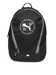 PUMA Unisex Black Echo Backpack