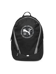 PUMA Unisex Black Echo Small Backpack