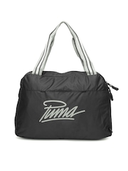 PUMA Women Black Core Grip Shoulder Bag