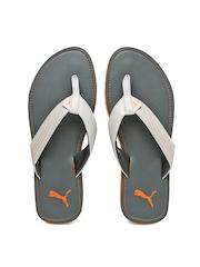 PUMA Men Grey Ketava II Flip-Flops