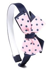 NeedyBee Girls Navy Hairband