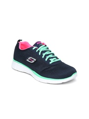 Skechers Women Navy Equalizer Sports Shoes