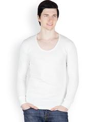 Cotton County Premium Men Cream-Coloured Thermal T-shirt