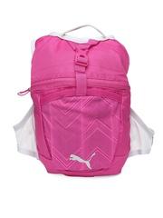 PUMA Women Pink & Grey Backpack