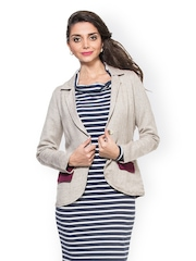 Zovi Women Light Grey Jacket