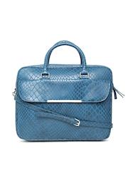 Parfois Women Teal Blue Laptop Bag