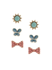 Parfois Set of 3 Stud Earrings