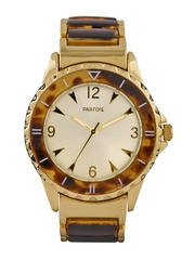 Parfois Women Gold-Toned Dial Watch 126543TANM