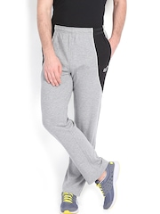 2go Active Gear USA Men Grey Melange Martin Track Pants