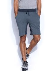 HRX Men Navy Blue Slim Fit Active Shorts