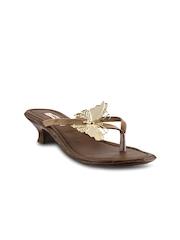 Mochi Women Brown Sandals