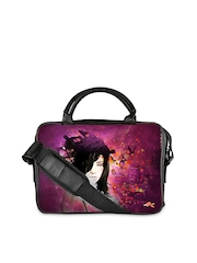 Flying Colors Unisex Multicoloured Printed Laptop Bag