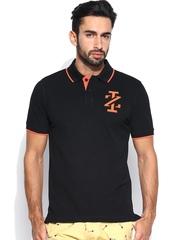 IZOD Men Black Polo T-shirt