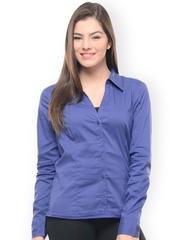 Hapuka Women Blue Casual Shirt