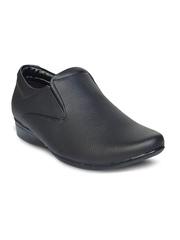 Tycoon Men Black Formal Shoes