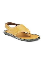 Yepme Men Tan Brown Sandals