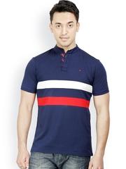 Design Classics Men Navy Polo T-shirt