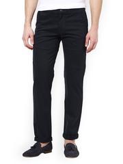 Men Navy Slim Fit Trousers TNG New York