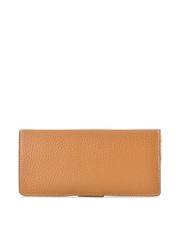 Daphne Women Coffee Brown & Light Yellow Wallet