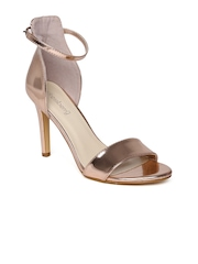 DressBerry Women Copper-Toned Heels