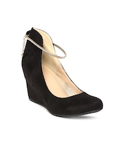 DressBerry Women Black Pumps
