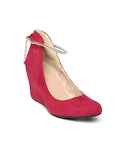 DressBerry Women Red Pumps