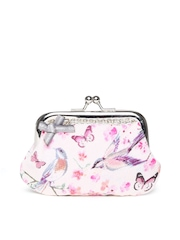Accessorize Women Pink Printed Pouch
