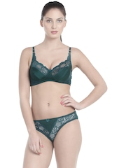 Little Lacy Green Lingerie Set AMBER
