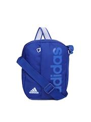 Adidas Unisex Blue Messenger Bag
