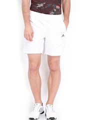Adidas Men White Shorts