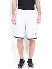 Adidas Men Off-White Shorts