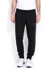Adidas Men Black Tap Auth Track Pants