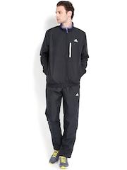 Adidas Men Black Tracksuit