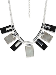 Blisscovered Silver-Toned Necklace