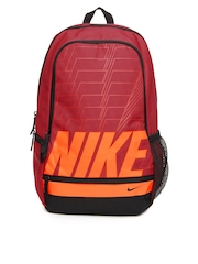 Nike Unisex Red Classic North Backpack