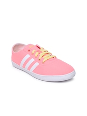 Adidas NEO Women Neon Pink QT Vulc VS Casual Shoes