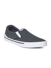 Adidas NEO Men Grey Park ST Slipon Casual Shoes