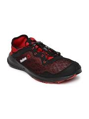 Reebok Men Black & Red One Rush Sports Shoes