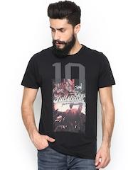 Pepe Jeans Men Black Printed T-shirt